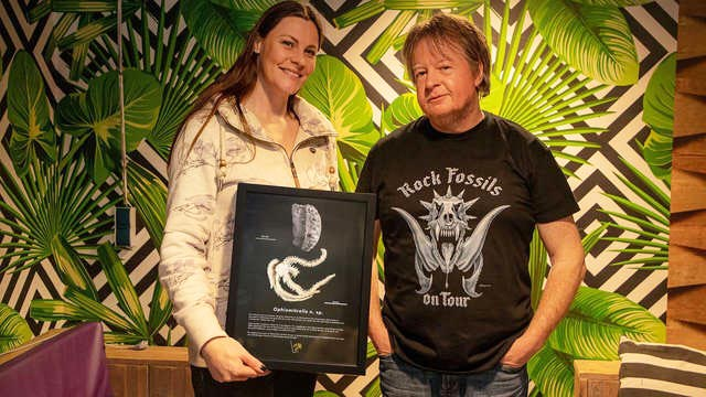 Floor Jansen With Dr. John Jagt