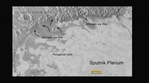 Flowing Ice Discovered by New Horizons on Pluto