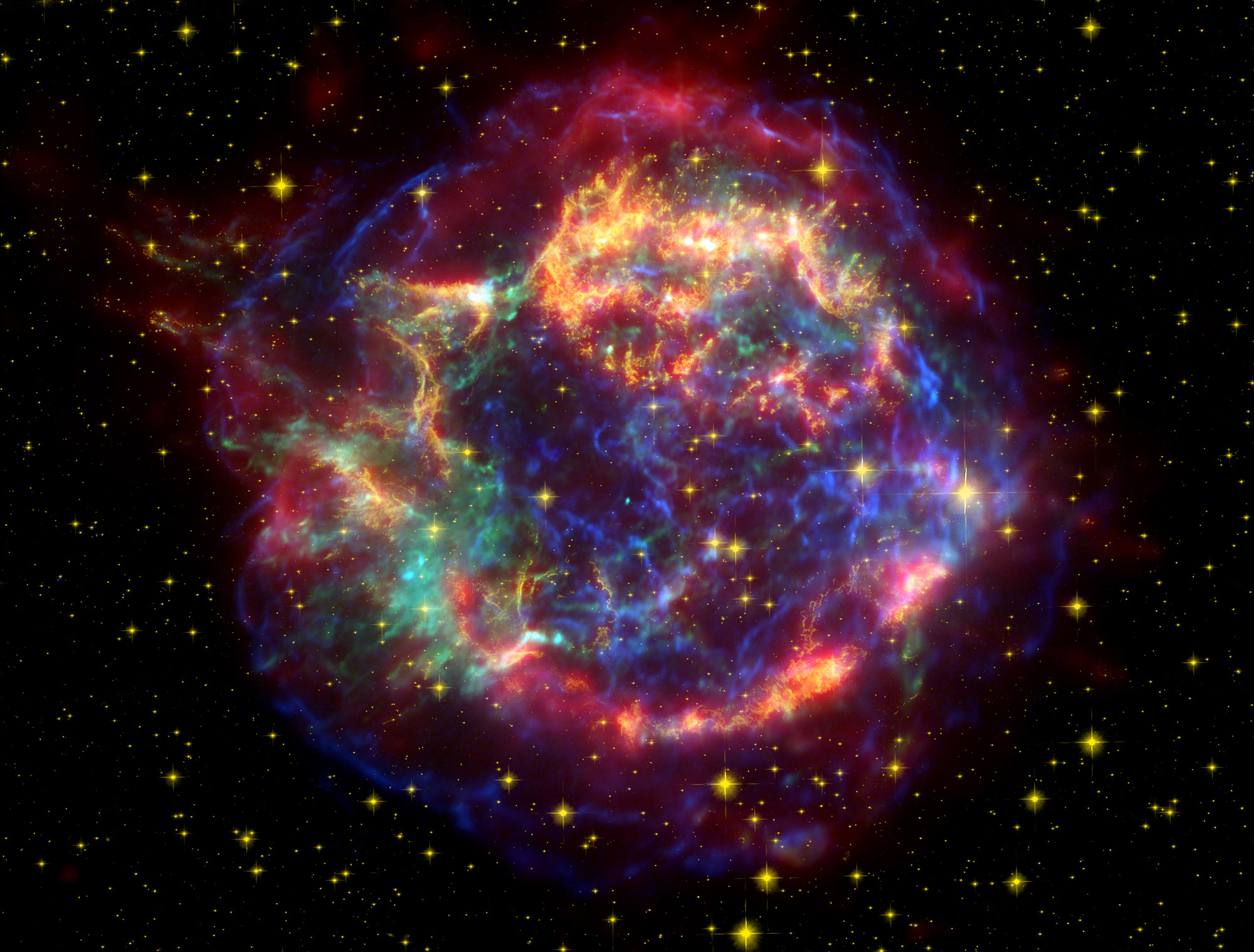 Researchers Find Hints of Supernova Iron in Bacteria Microfossils