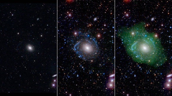 'Frankenstein' Galaxy Surprises Scientists