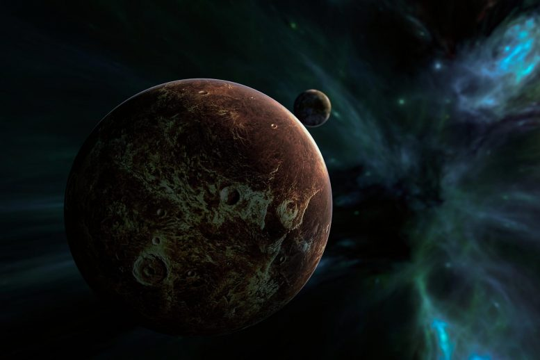 Free Floating Planet Artist's Concept