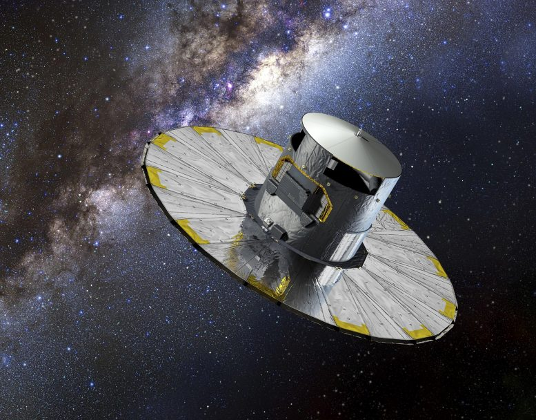 Gaia Spacecraft Artist's Impression