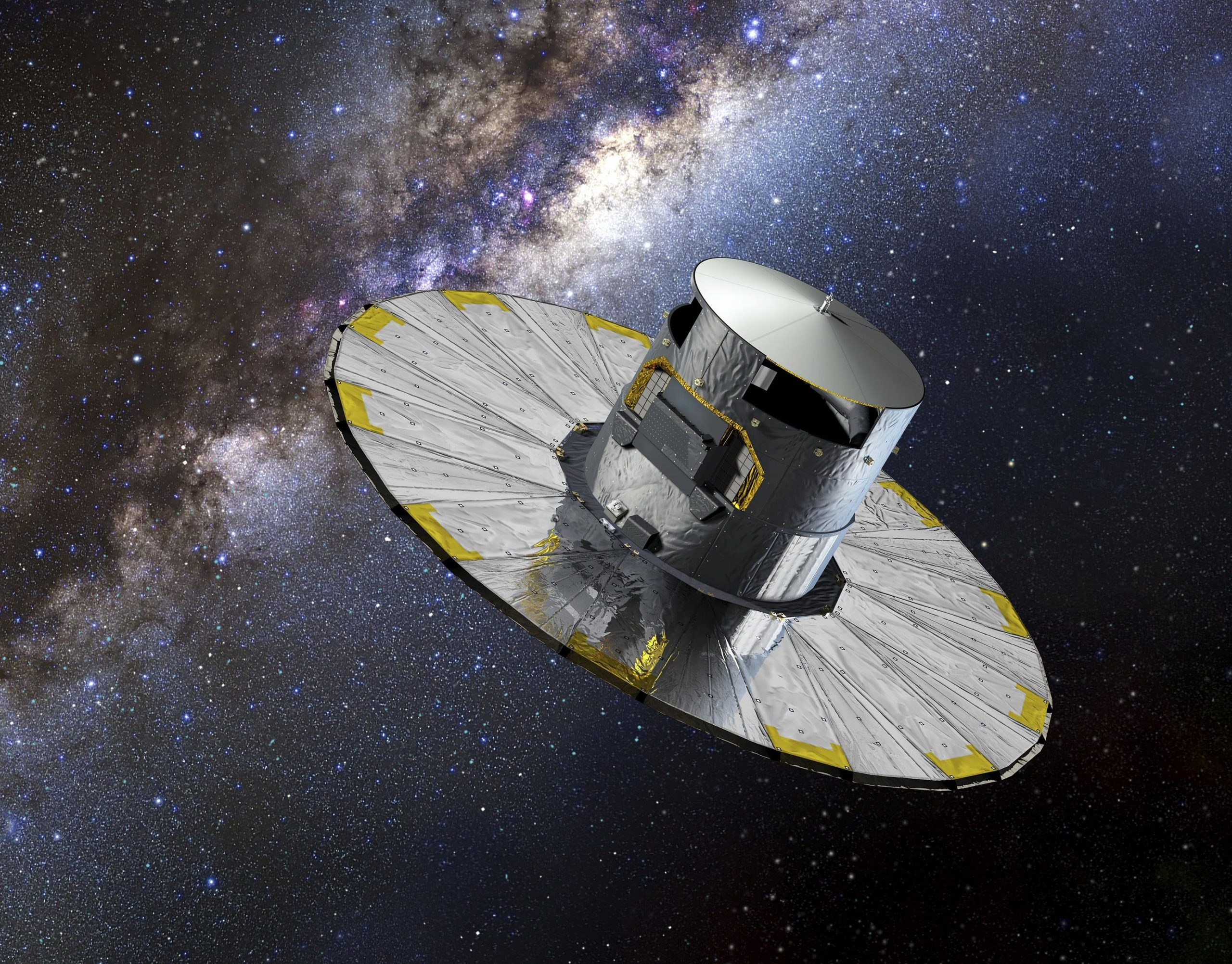Gaia Spacecraft Artists Impression scaled.'