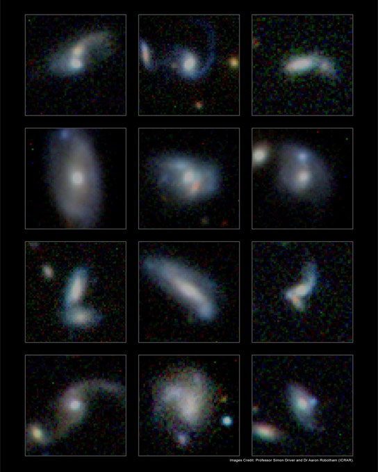 Monster Galaxies Gain Size by Consuming Smaller Neighbors