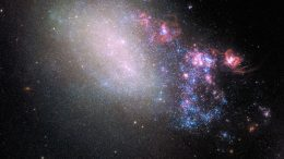 Galaxy Blazes With New Stars