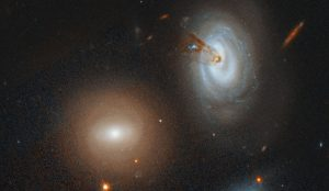 Galaxy Is No Match For A Hungry Cluster