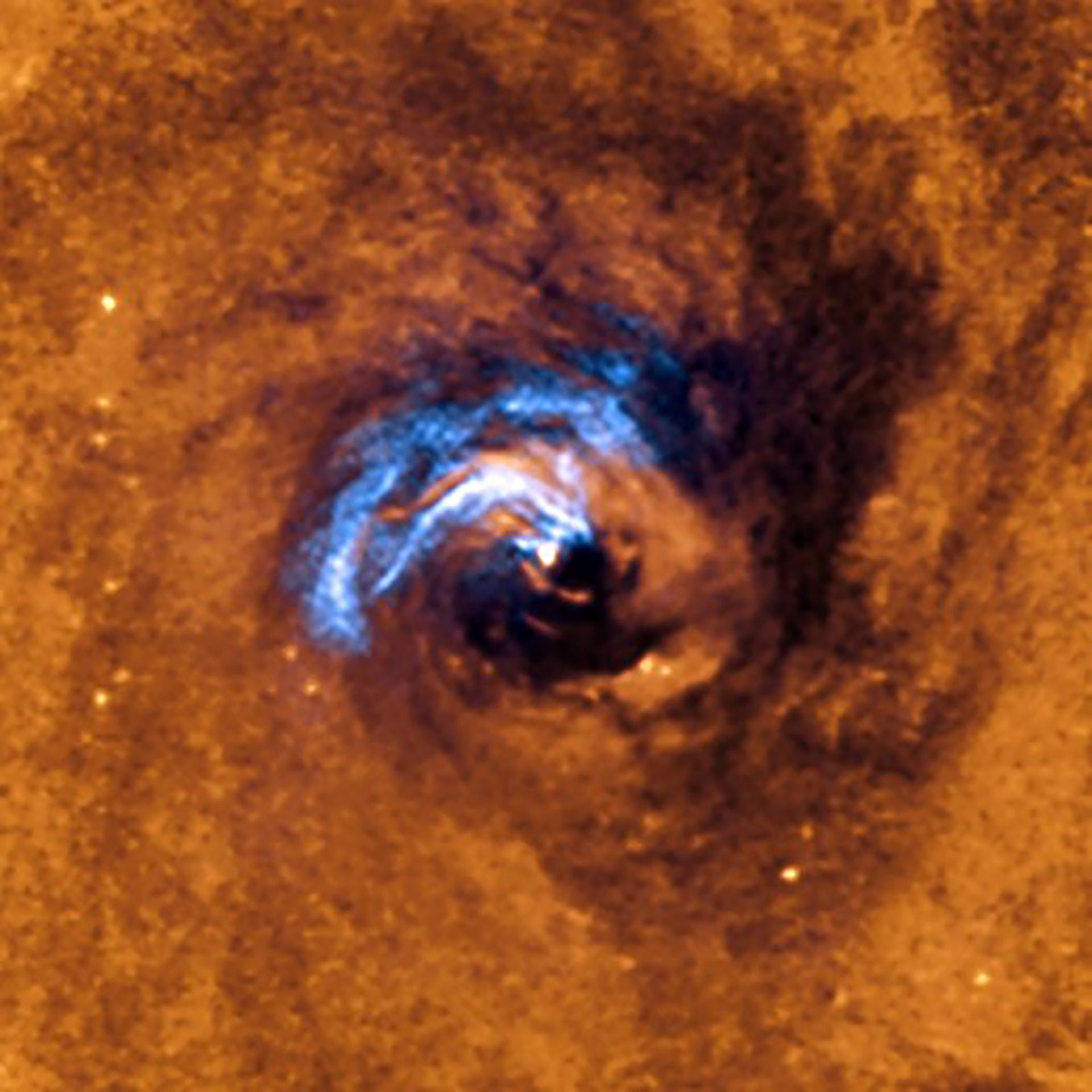Astronomers Discover How to Feed a Supermassive Black Hole