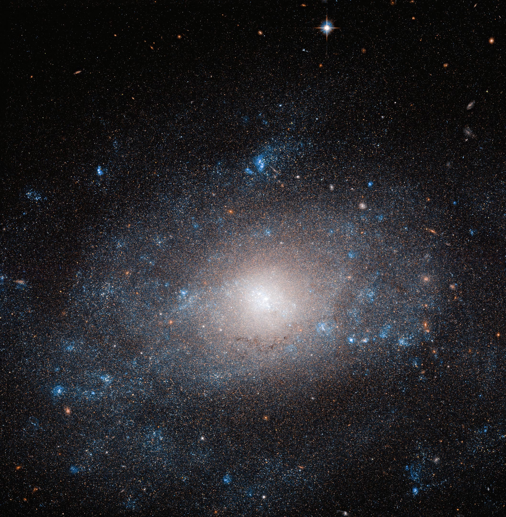 Dark Matter Surplus Captured by Hubble - SciTechDaily