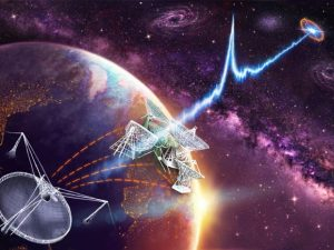 Galaxy of a Fast Radio Burst Identified