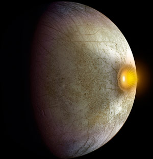 Galileo Mission Discovers Clay Like Minerals on Europa