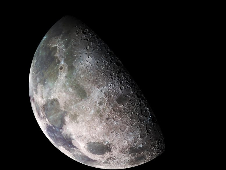 Galileo North Polar Moon Mosaic