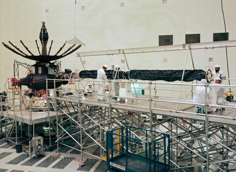 Galileo Orbiter Being Built