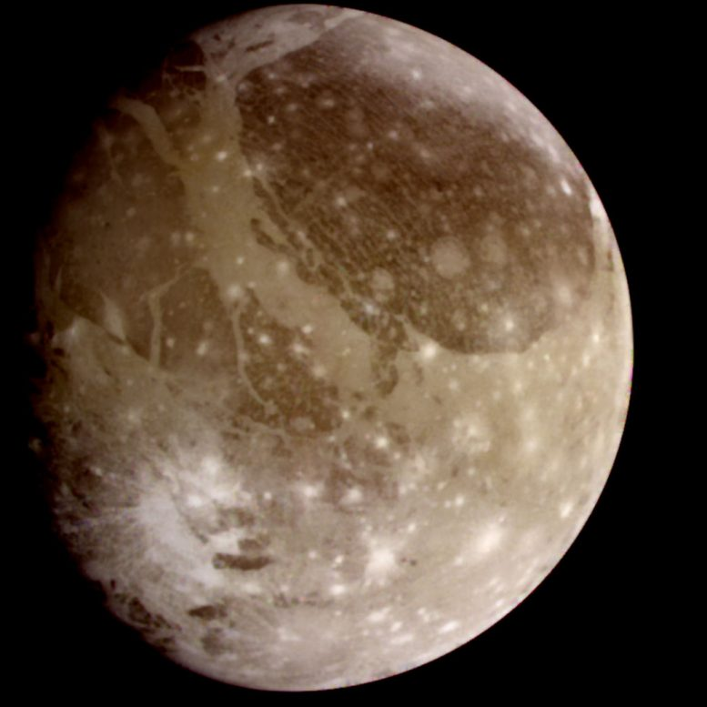 Ganymede A Moon Like No Other