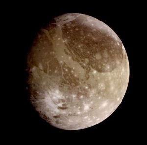 Ganymede Image from Galileo Spacecraft