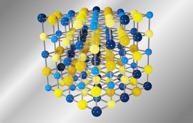 GeSnPbSSeTe Crystal Structure