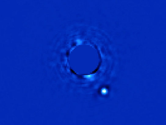Gemini Planet Imager Captures First Light Image of Exoplanet Beta Pictoris b