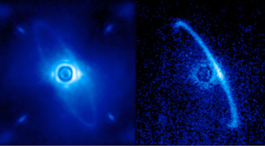 Gemini Planet Imager Views HR4796A