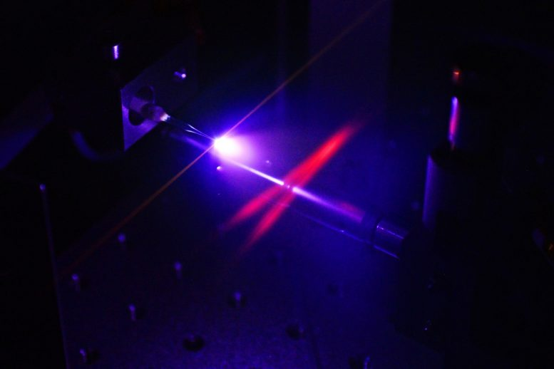 Generation of Attosecond Pulses in a Jet of Neon Gas