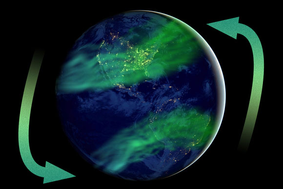 Geomagnetic Field Intensity is Double the Long-Term Historical Average