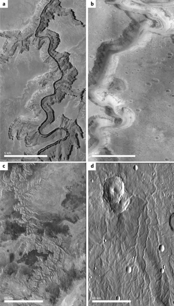 Geomorphic Evidence for Water on Ancient Mars
