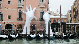 Giant Hands Support Venice