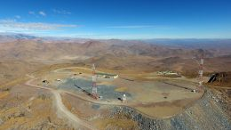Giant Magellan Telescope Excavation
