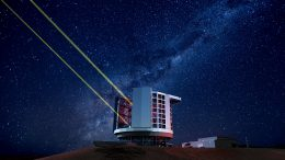 Giant Magellan Telescope at Night