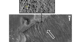 Giant Tsunamis Battered an Early Martian Ocean