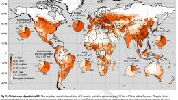 Global Map of Pesticide RS