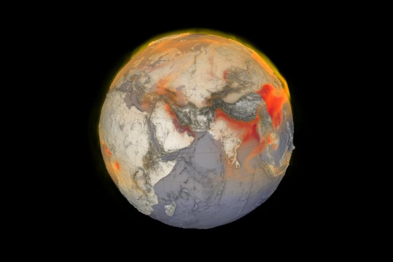 Global Methane Visualization