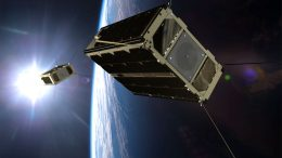 GomX-4B and GomX-4A Miniature Satellites