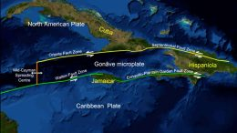 Gonâve Microplate and Surrounding Fault Zones