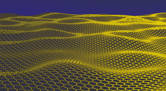 "Graphene ""Sandwich"" Protects Microscopic Materials from Radiation"