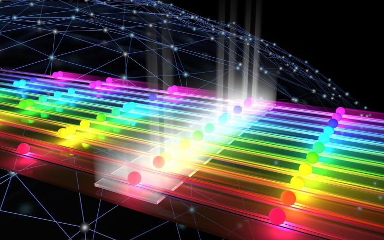 Graphic Visualizes Quantum Mechanical Interference