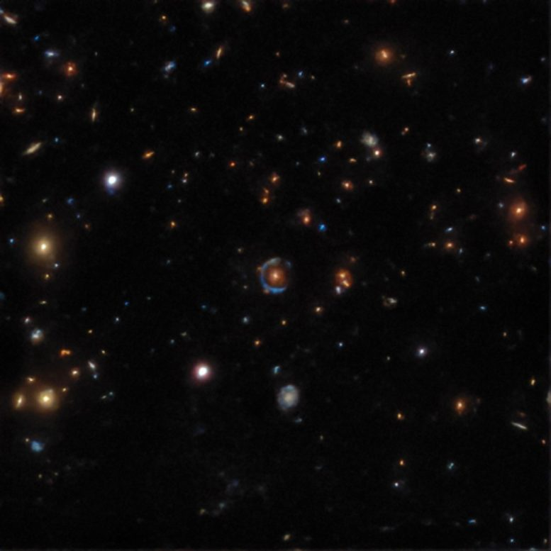 Gravitational Lens Found in the DESI Legacy Survey Data