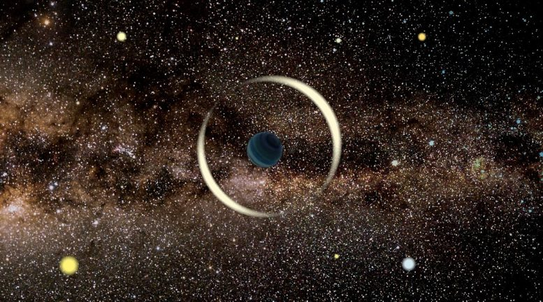 Gravitational Microlensing Event Free-Floating Planet
