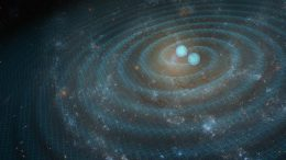Gravitational Waves Artist Concept