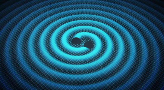 Gravitational Waves Help Researchers Understand Black Hole Weight Gain