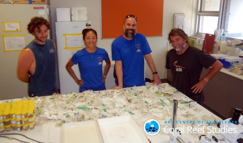 Great Barrier Reef Voyage Team