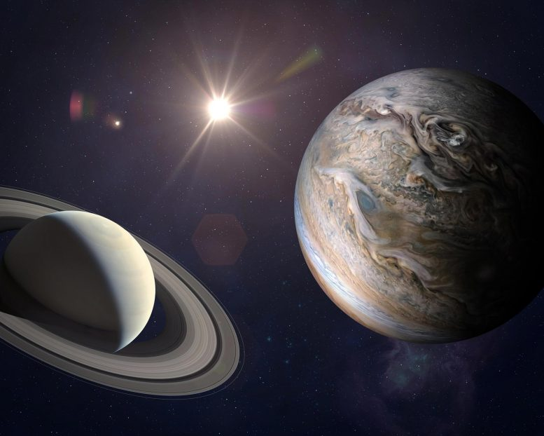 Great Conjunction of Jupiter and Saturn