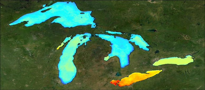 Great Lakes Primary Productivity