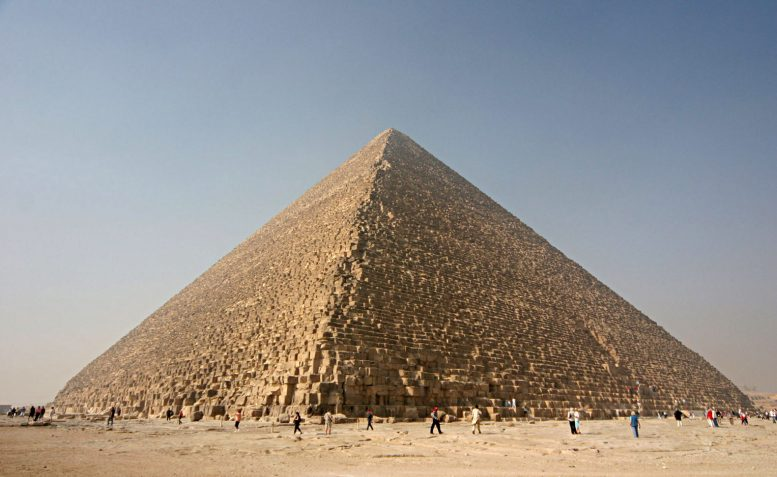 Great Pyramid of Giza Can Focus Electromagnetic Energy