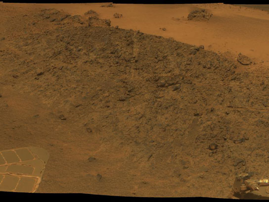 Greeley Haven Photo From Rover Opportunity's Panoramic Camera