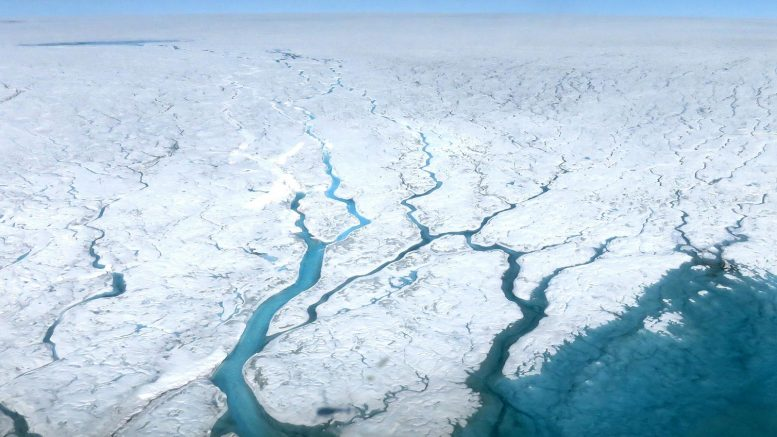 Greenland Ice Sheet Meltwater Rivers