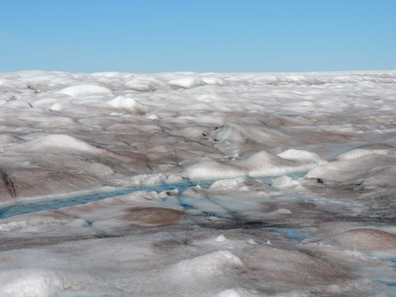 Greenland Ice Sheet Surface