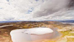 Greenland Melting Landscape