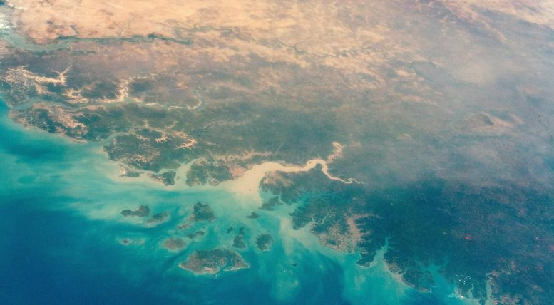 Guinea Bissau From ISS