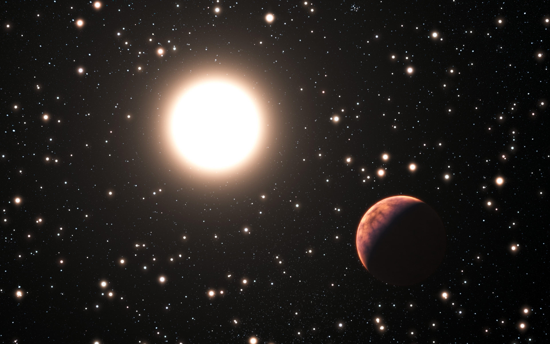 star orbiting the sun - photo #1