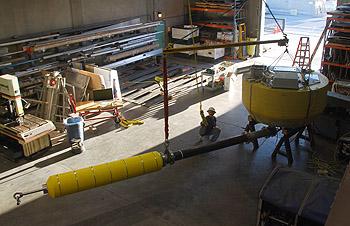 Hamilton's power buoy project