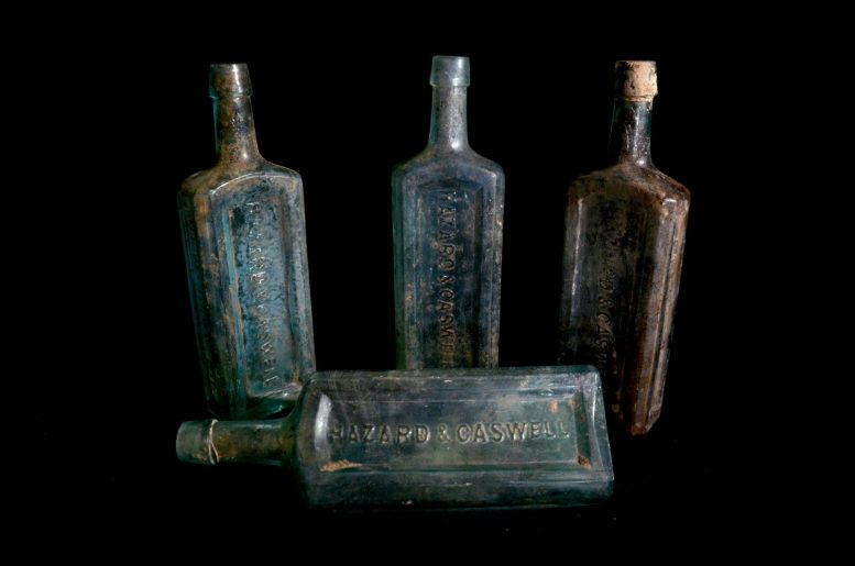 Hazard & Caswell Bottles